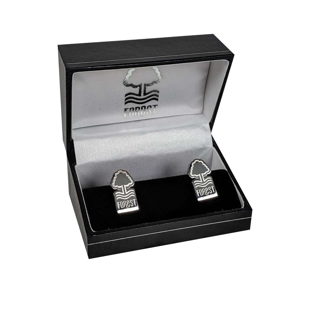 NFFC Stainless Steel Crest Cufflinks