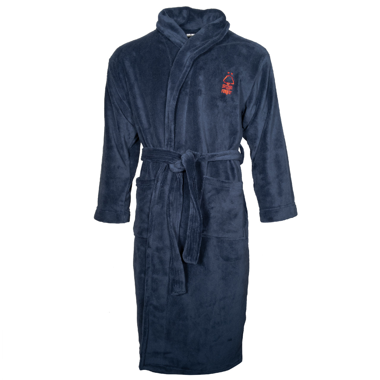 NFFC Junior Navy Dressing Gown