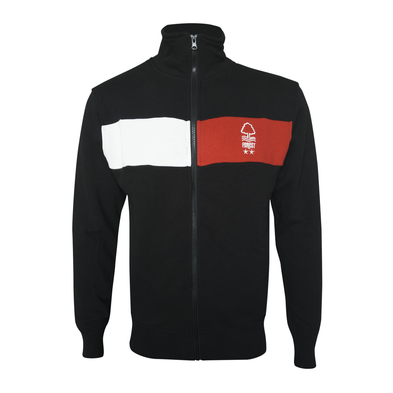 NFFC Mens 2 Tone Stripe Track Jacket