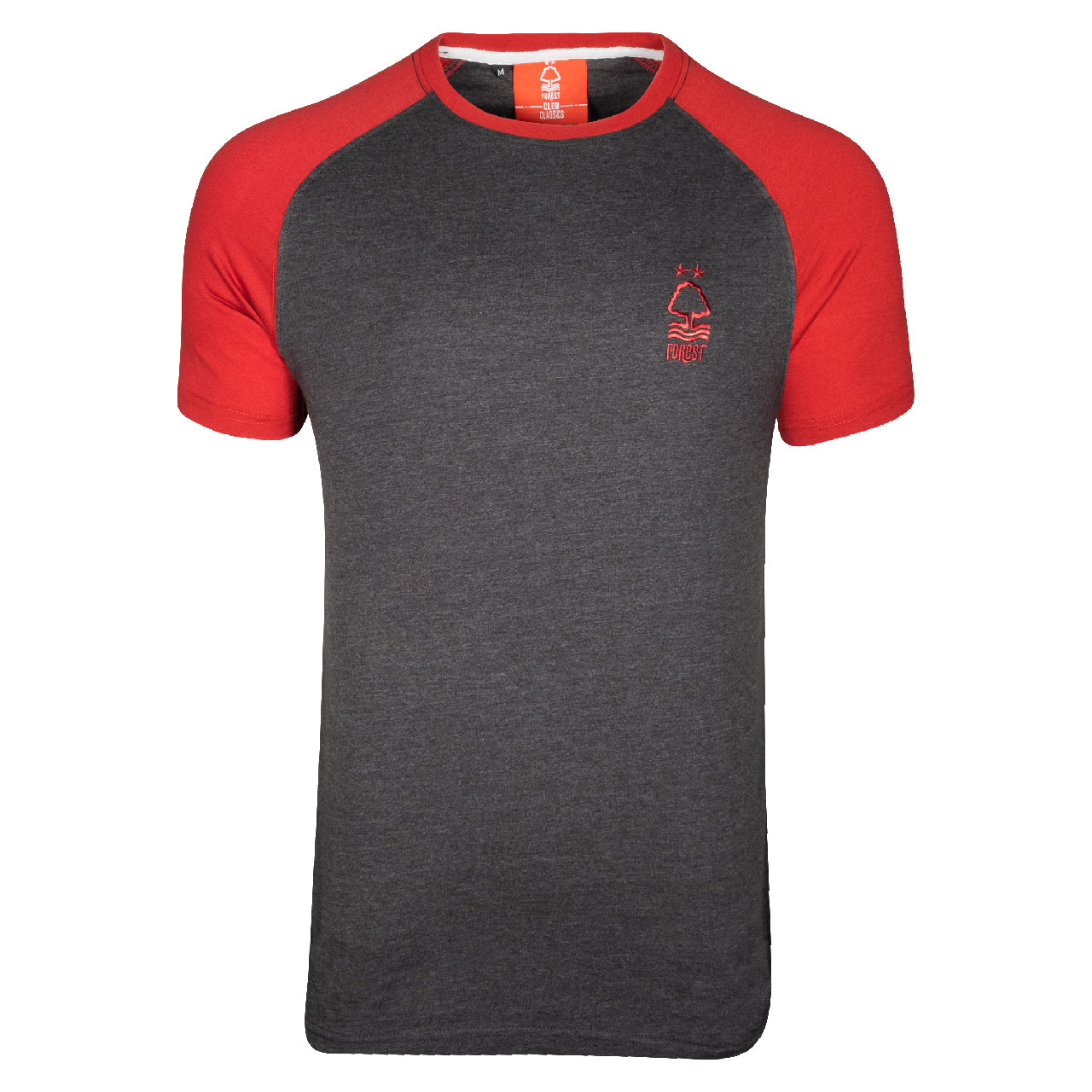 NFFC Mens Grey Essential Raglan T-Shirt