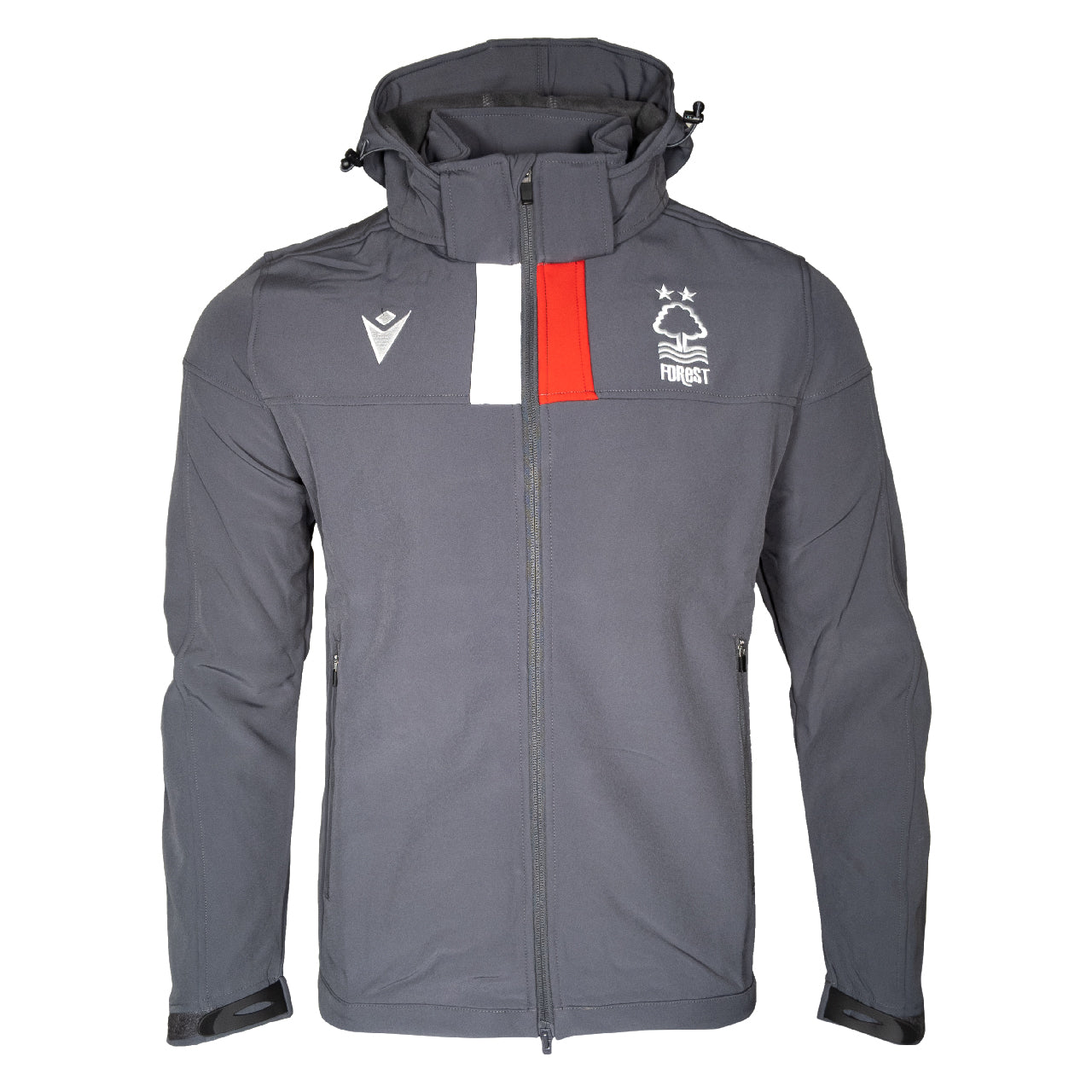 NFFC Junior Grey Staff Softshell Jacket 19/20