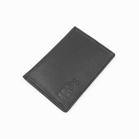 NFFC Black Leather Card Holder