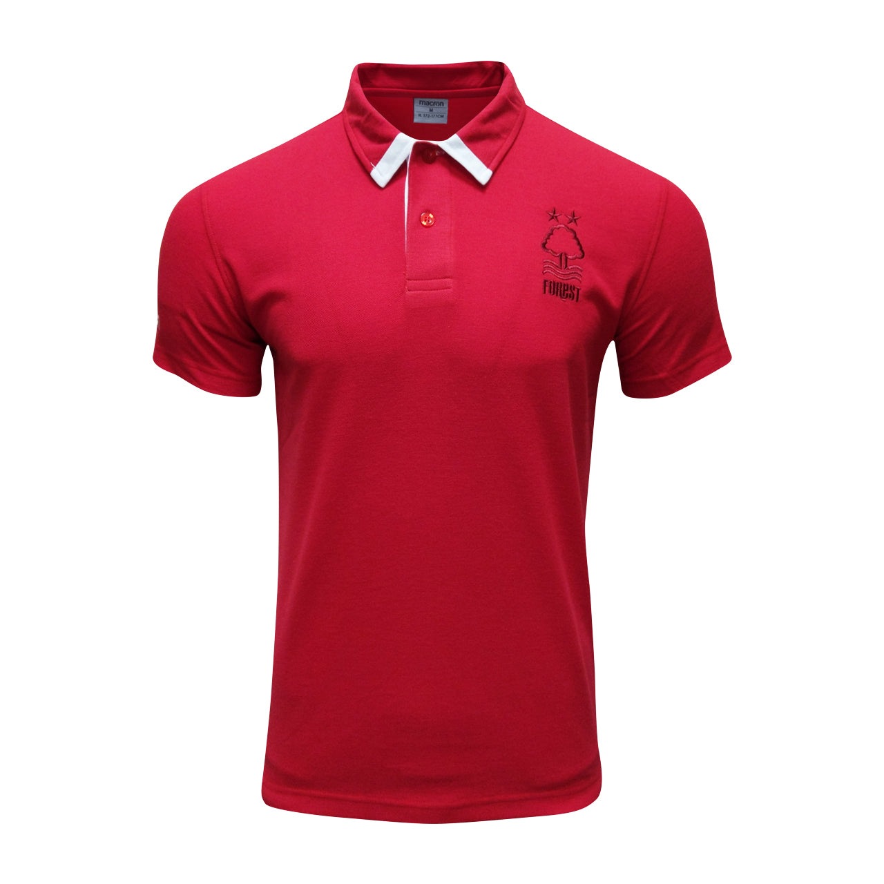 NFFC Mens Red Fan Polo