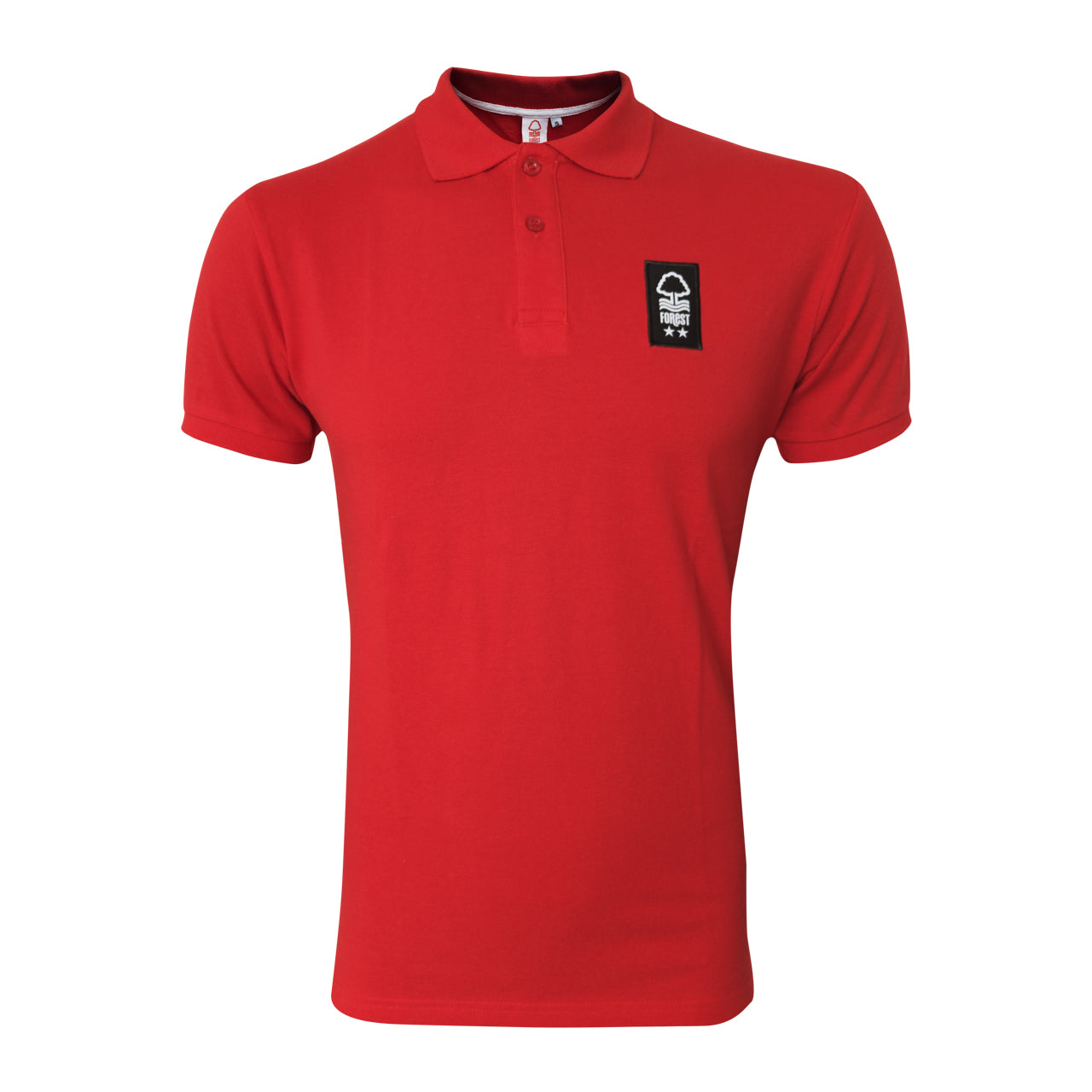 NFFC Mens Red Core Polo