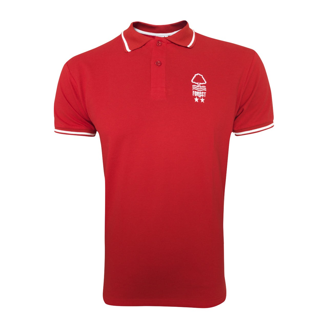 NFFC Mens Red Polo