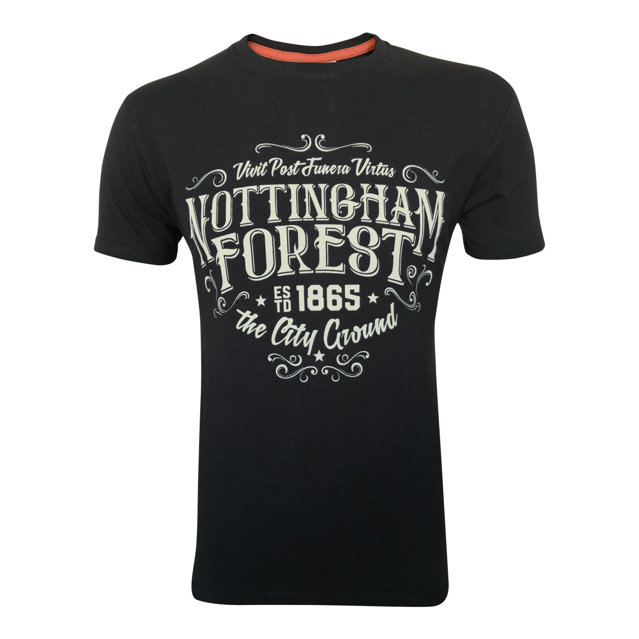 NFFC Mens Black Motto T-Shirt