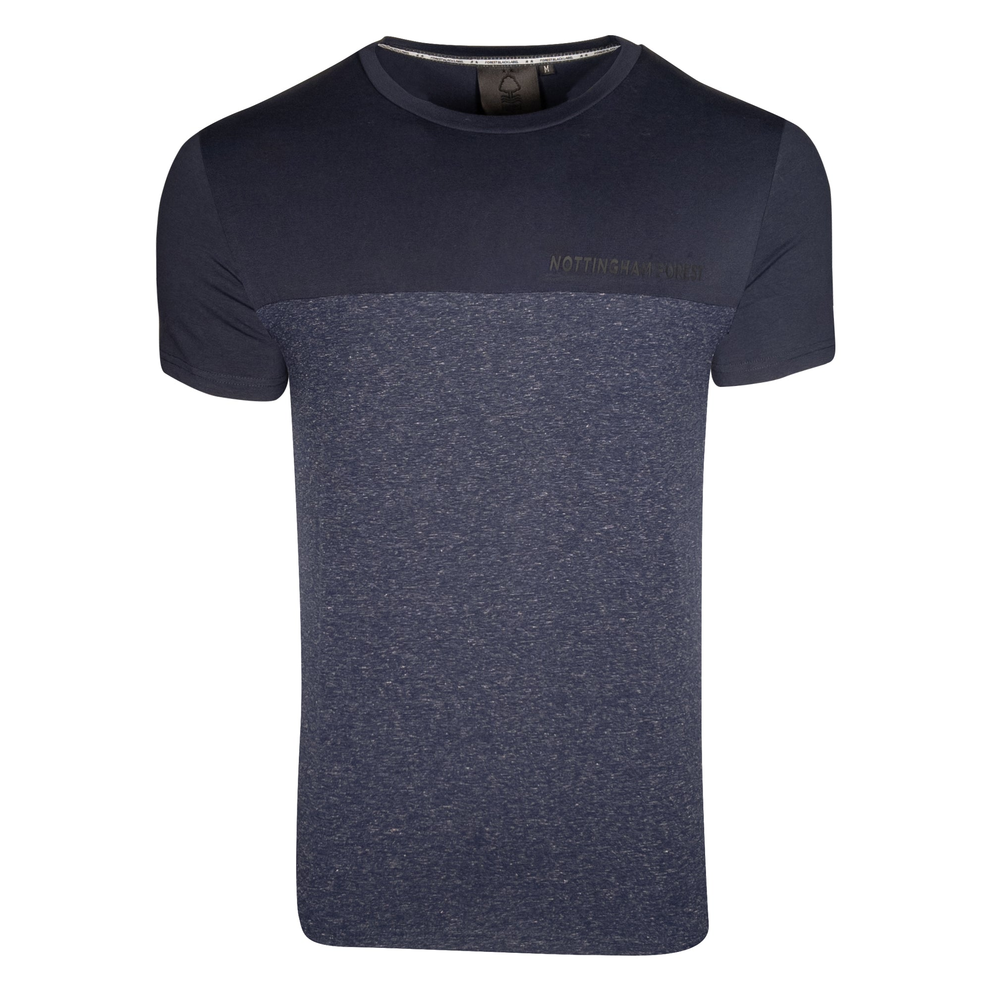 NFFC Mens Navy Block T-Shirt
