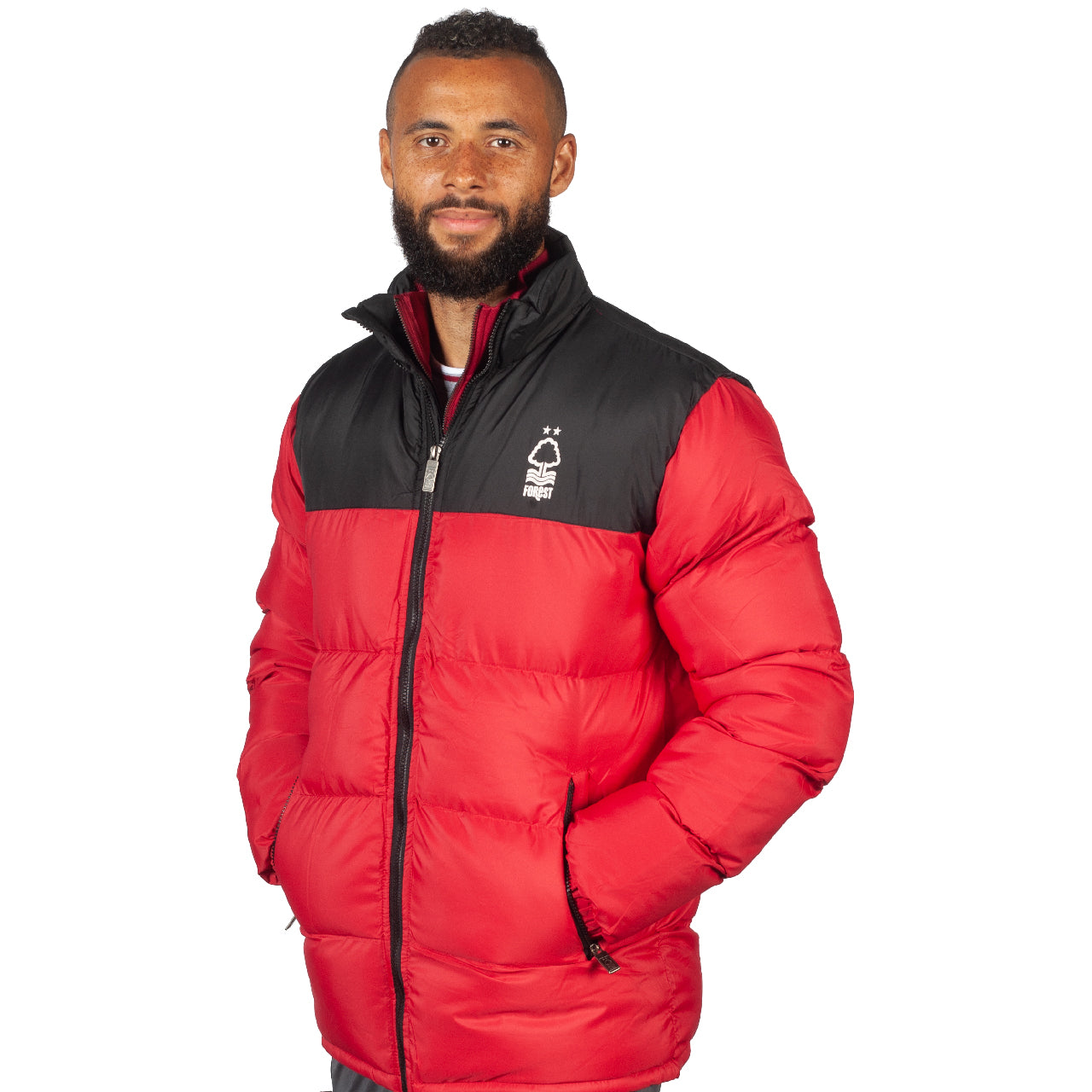 NFFC Mens 2 Tone Padded Jacket