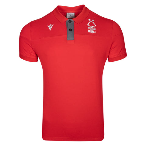NFFC Junior Red Player Training Polo 19/20