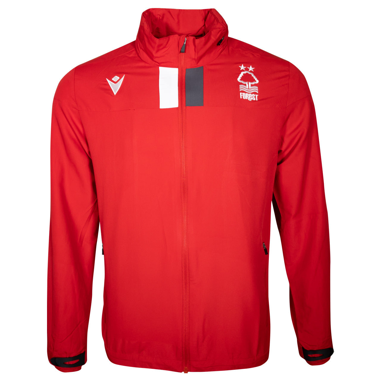 NFFC Junior Red Player Training Shower Jacket 19/20