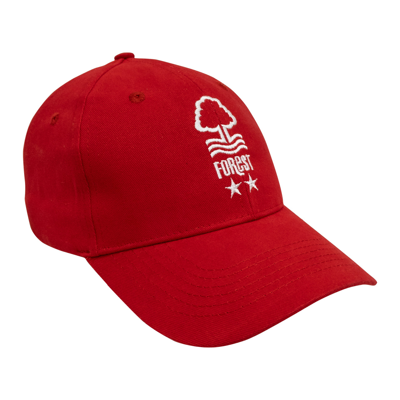 NFFC Red Adult Crest Cap