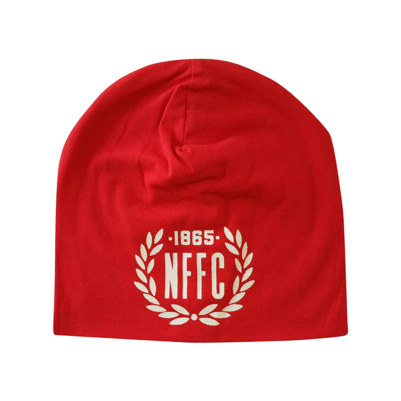 NFFC Adult Red Cotton Beanie - Nottingham Forest