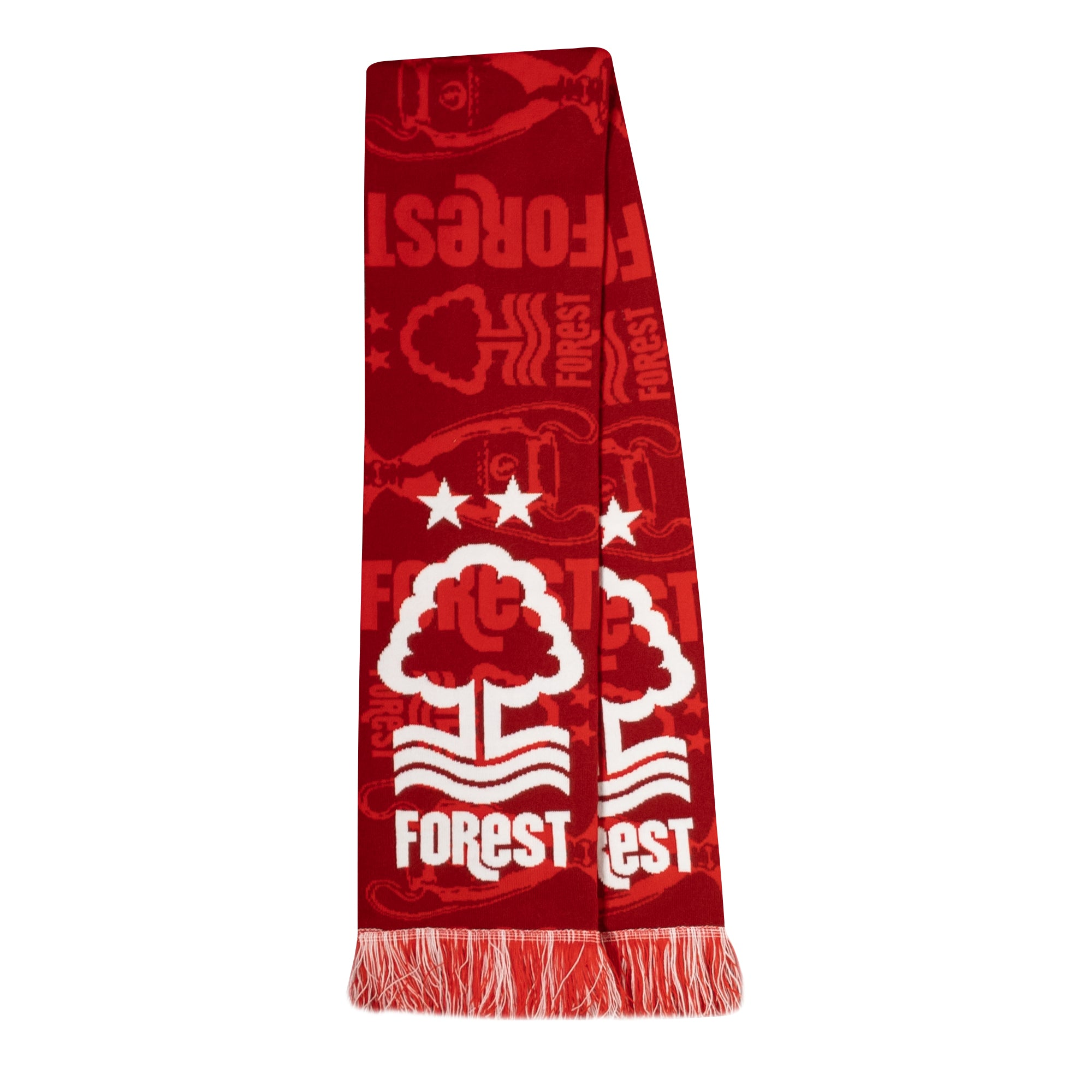 NFFC Red European Cup Scarf