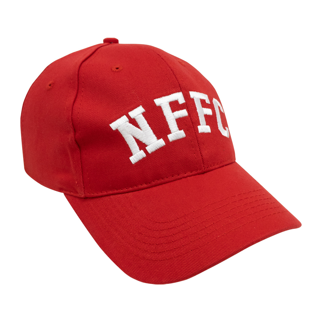 NFFC Red Adult Text Cap