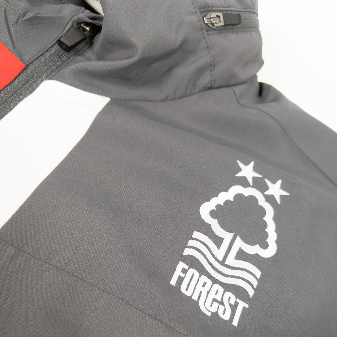 NFFC Mens Grey Staff Shower Jacket 19/20