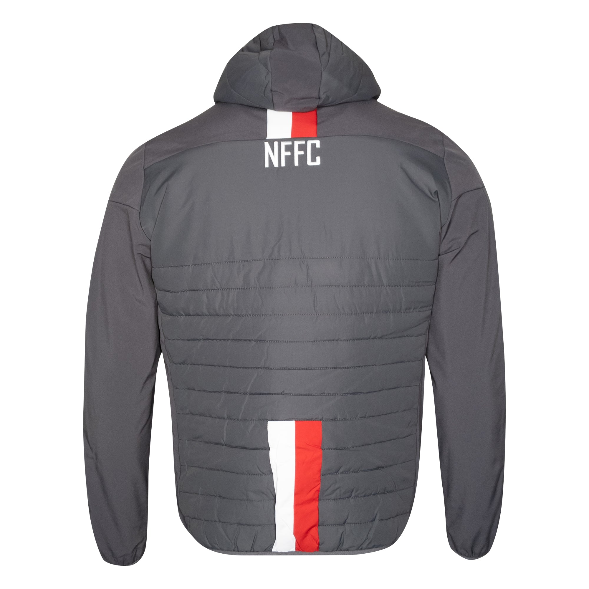 NFFC Mens Grey Staff Bomber Jacket 19/20