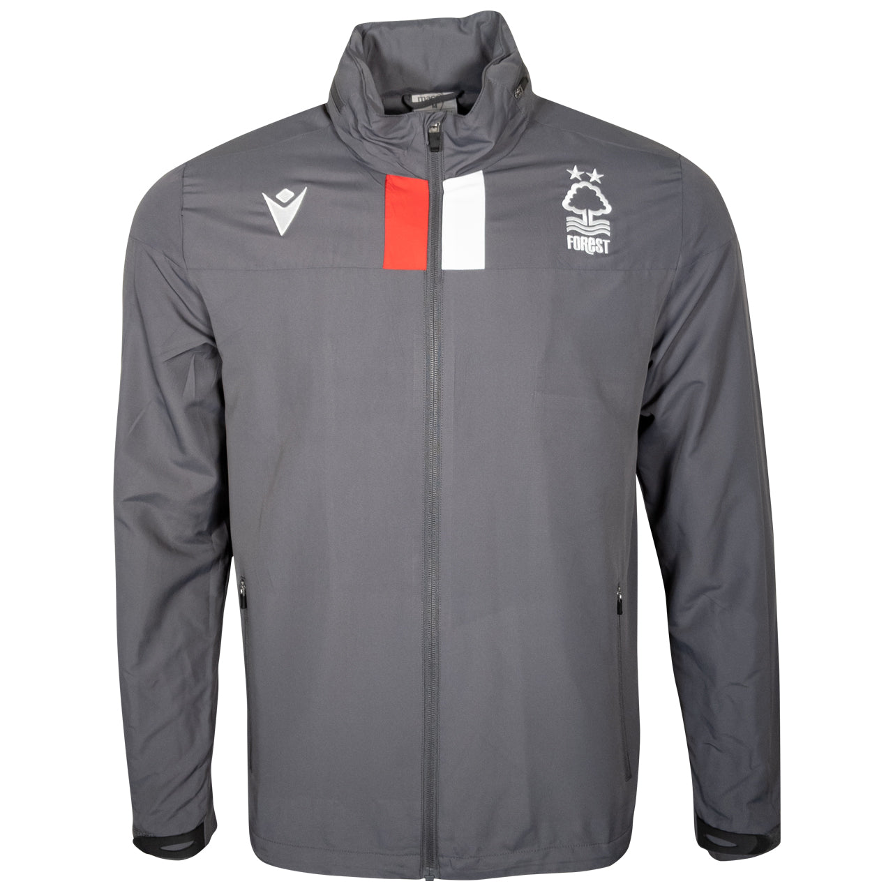NFFC Junior Grey Staff Training Shower Jacket 19/20