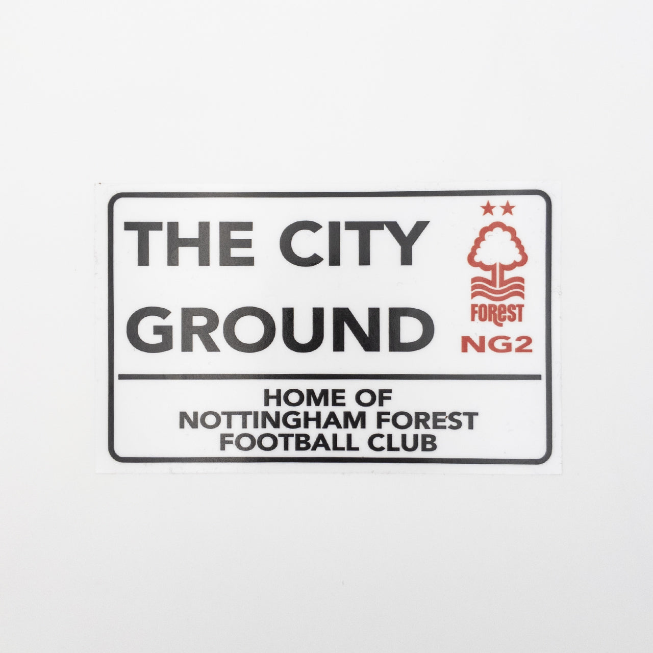NFFC Street Sign Car Sticker
