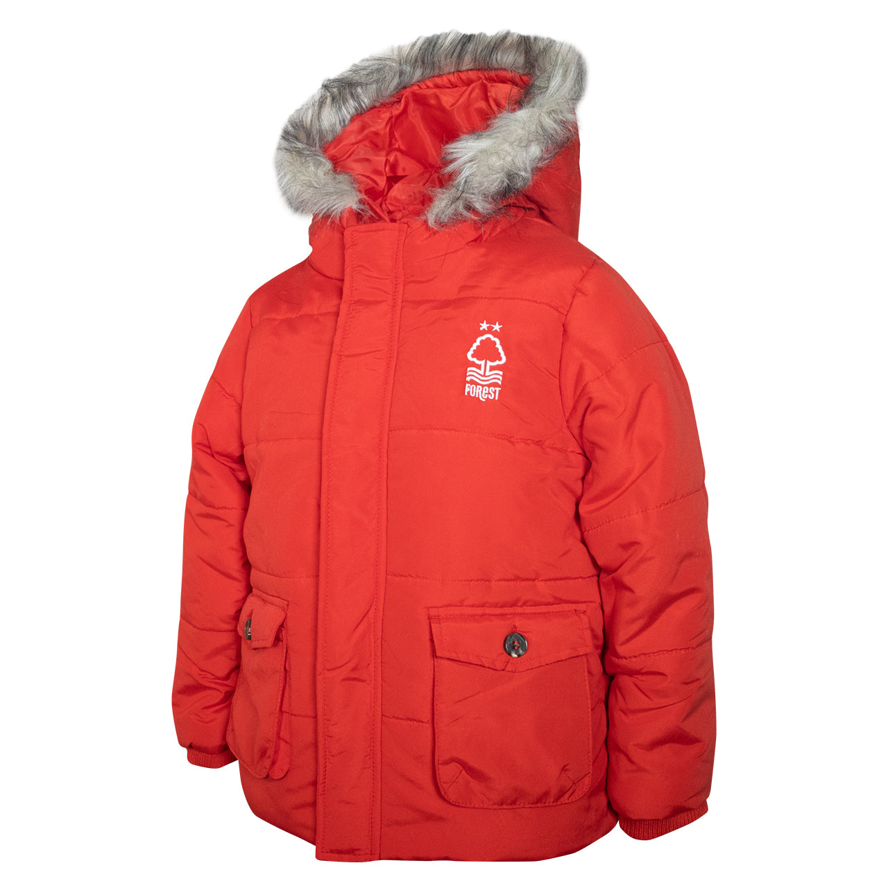 NFFC Red Essential Toddler Astro Jacket