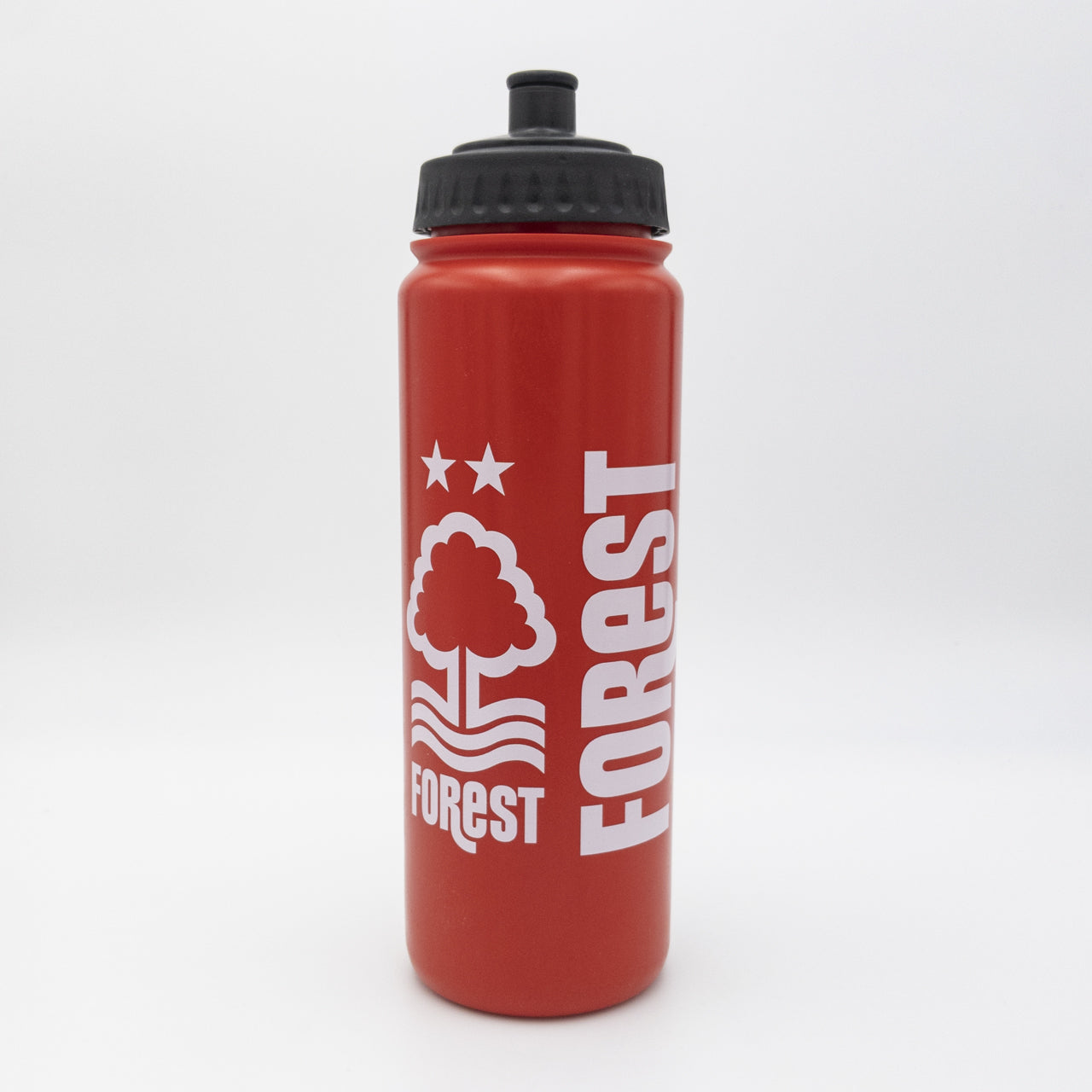 NFFC Red Finger Grip Water Bottle