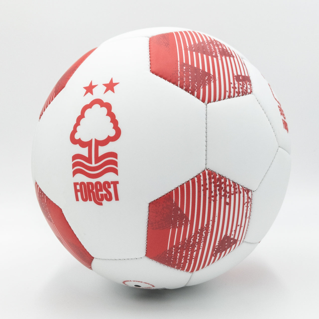 NFFC White Matt Football - Size 5