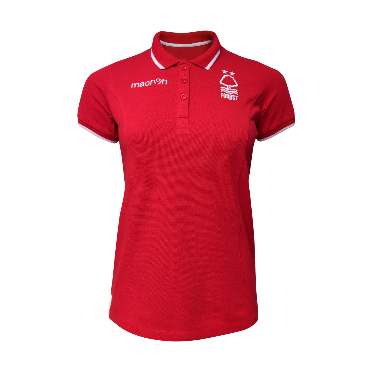 NFFC Red Womens Fan Polo