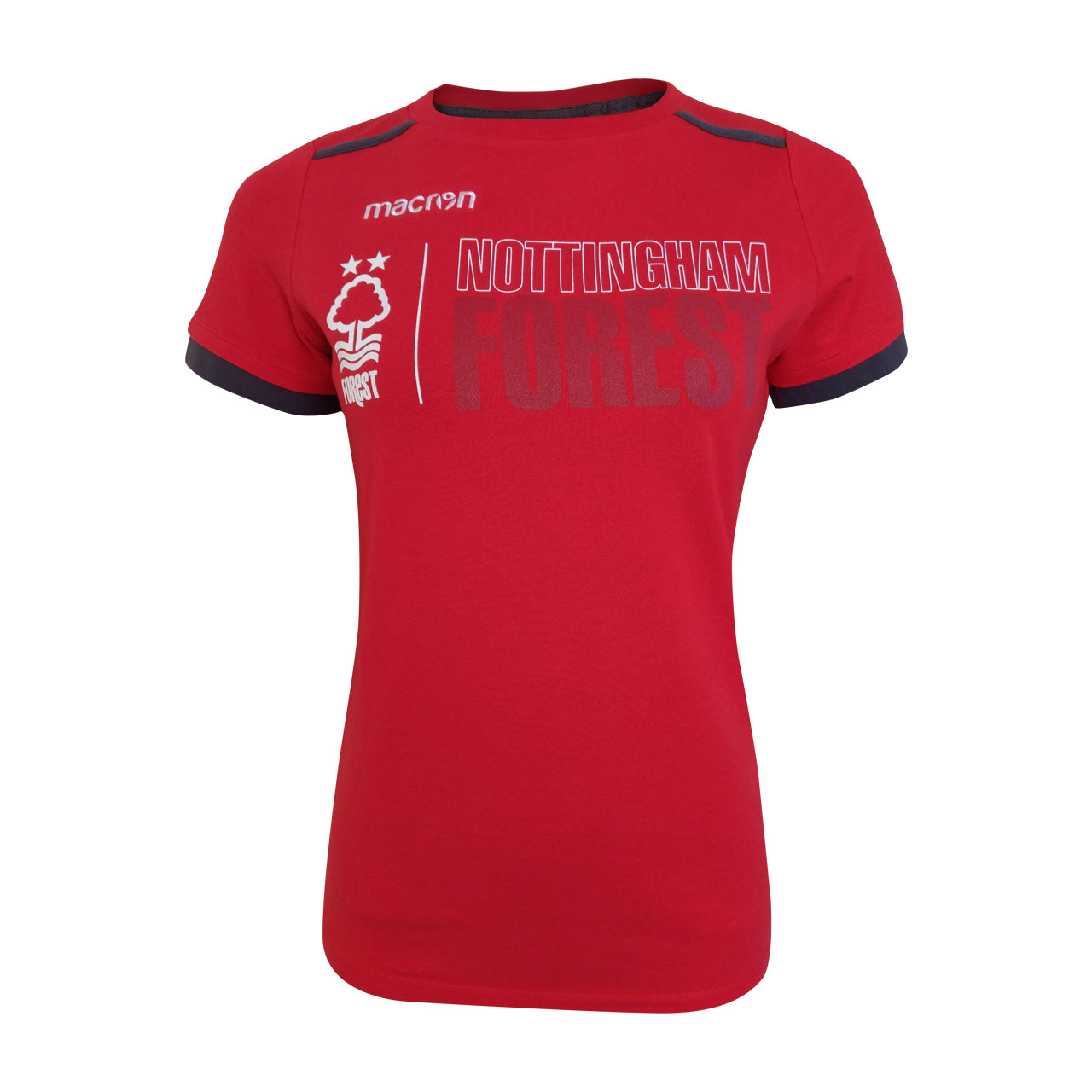 NFFC Red Womens Fan T-shirt