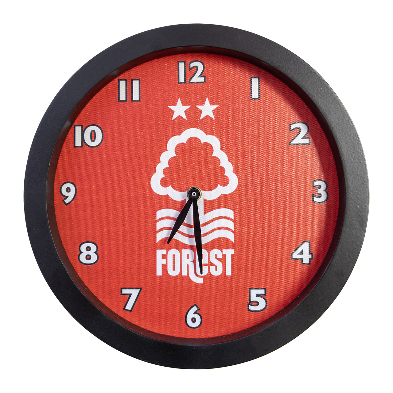 NFFC Wooden Framed Wall Clock