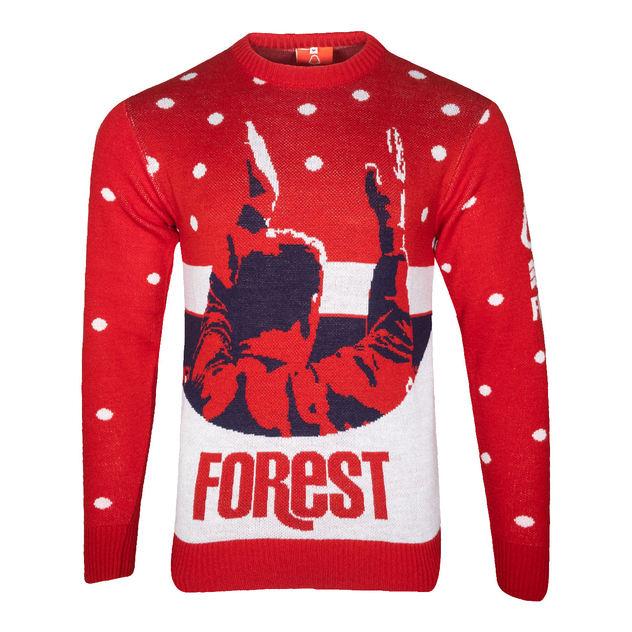 NFFC Mens Clough Christmas Jumper