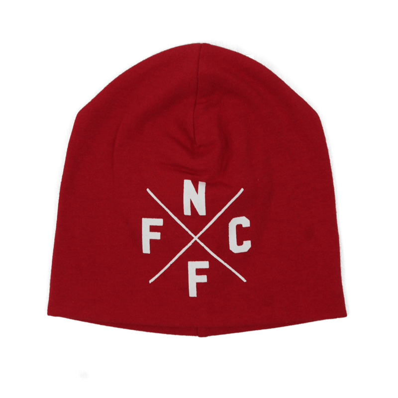 NFFC Baby Red Beanie