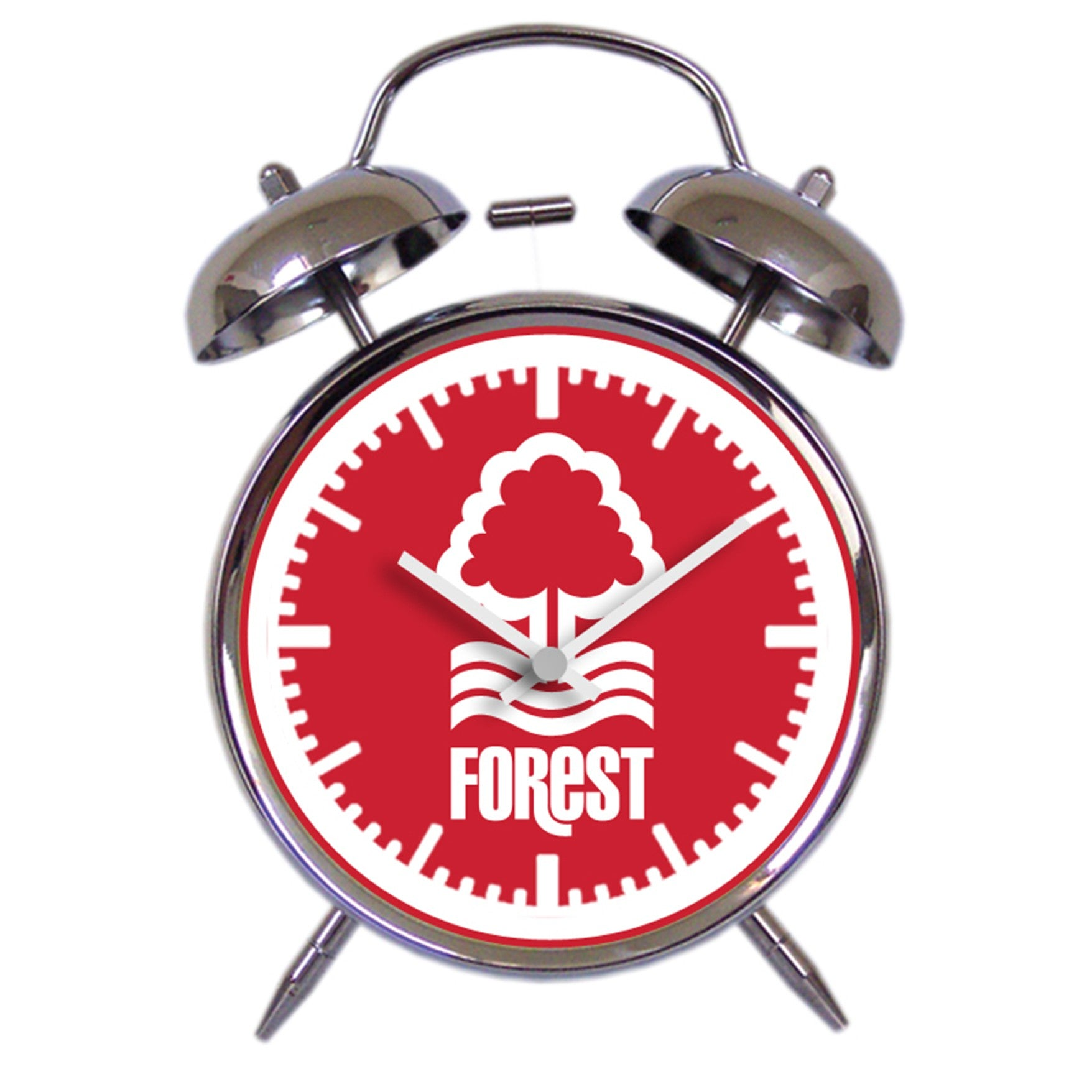 NFFC Twin Bell Alarm Clock
