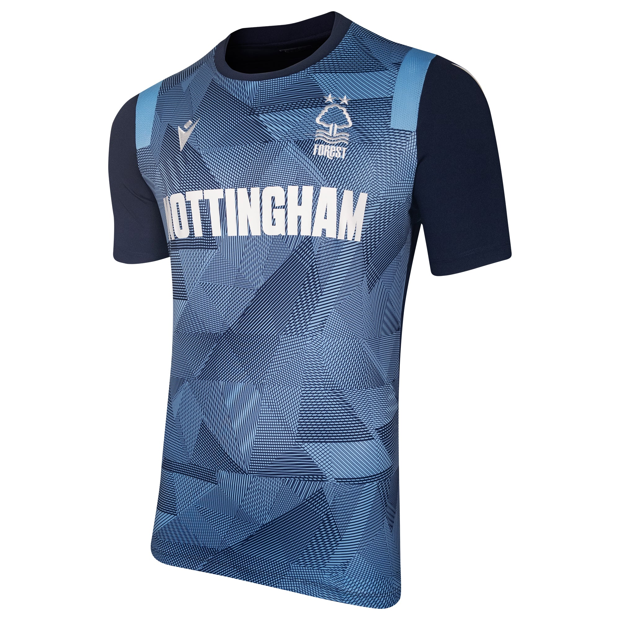 NFFC Mens Blue Nottingham Jersey