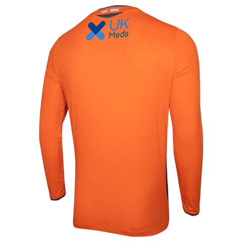 NFFC Mens Orange Goalkeeper Shirt 2020/21