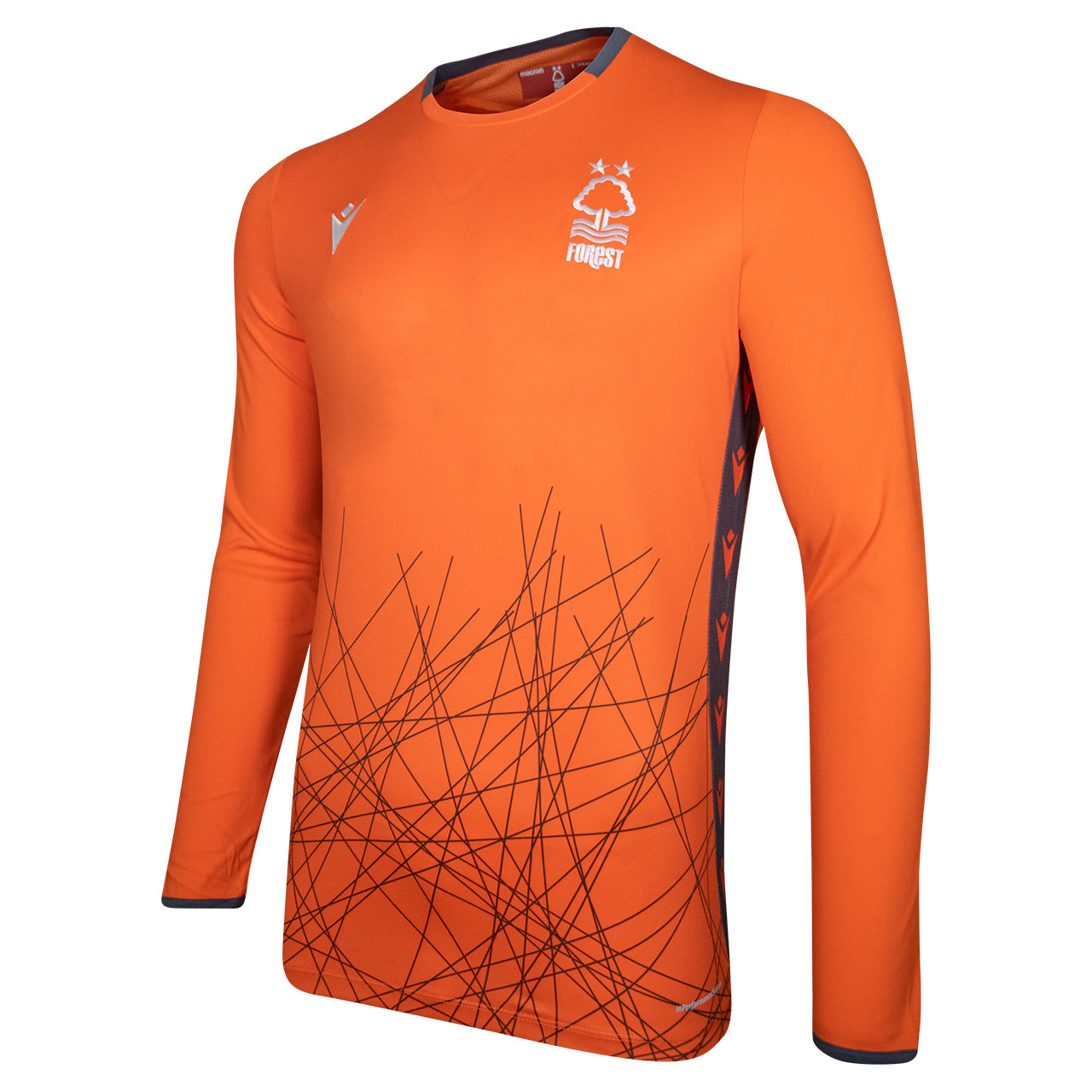 NFFC Junior Orange Goalkeeper Shirt 2020/21