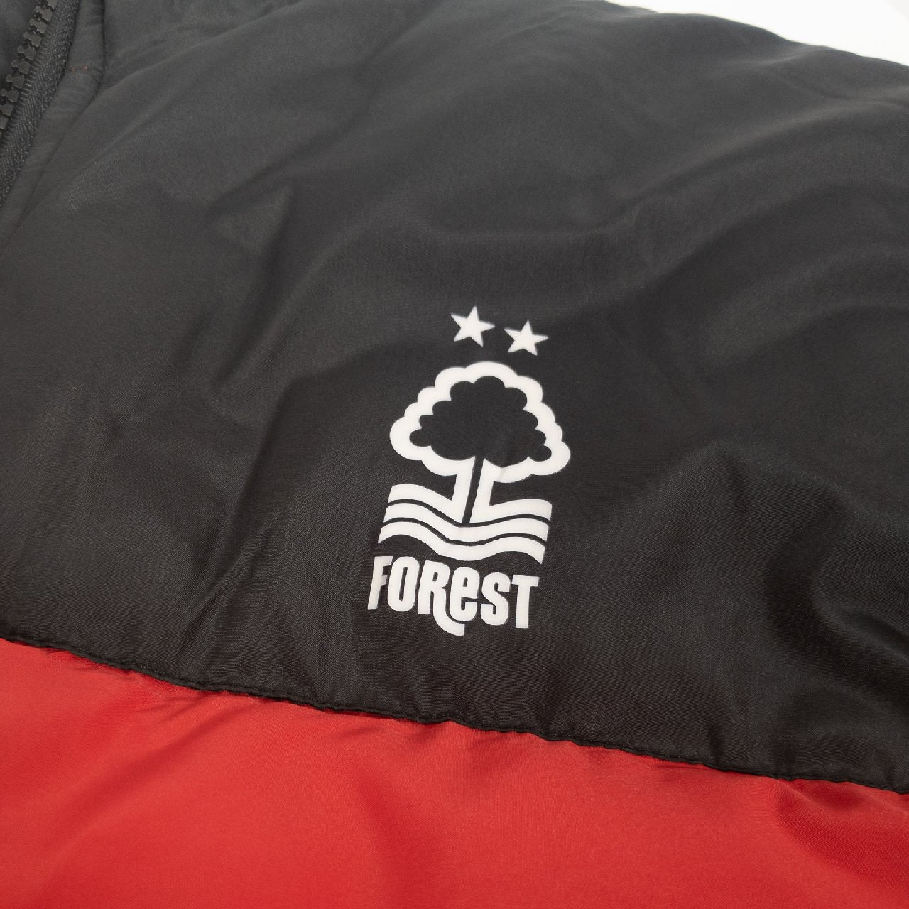 NFFC Junior 2 Tone Padded Jacket