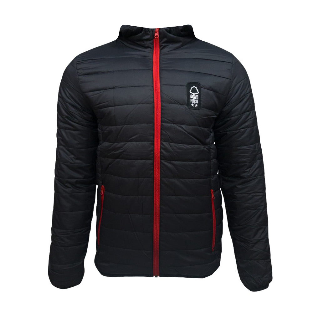 NFFC Junior Black Padded Jacket