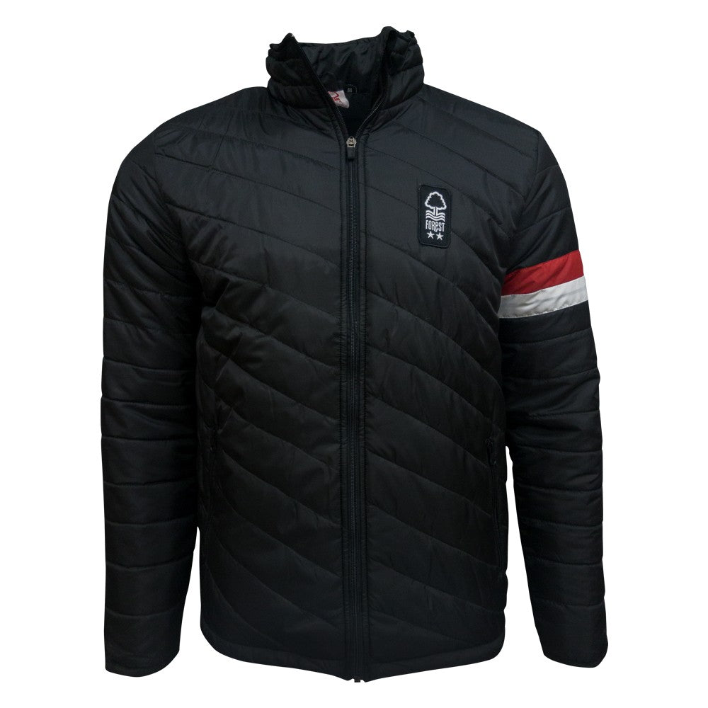 NFFC Stripe Sleeve Padded Jacket