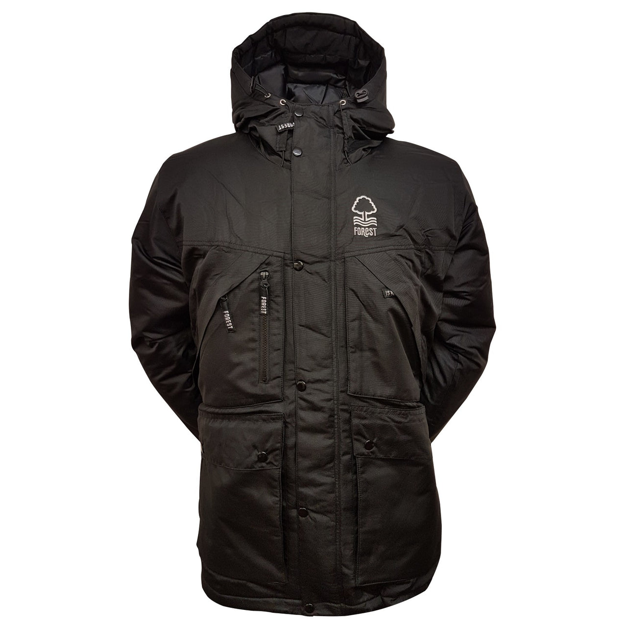 NFFC Junior Black Parka Jacket