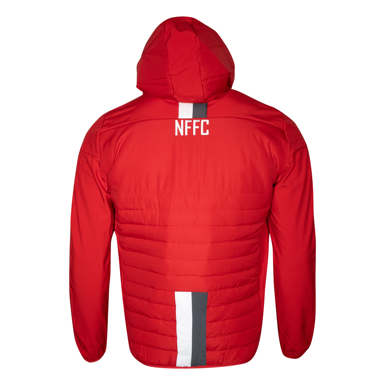 NFFC Junior Red Player Bomber Jacket 19/20