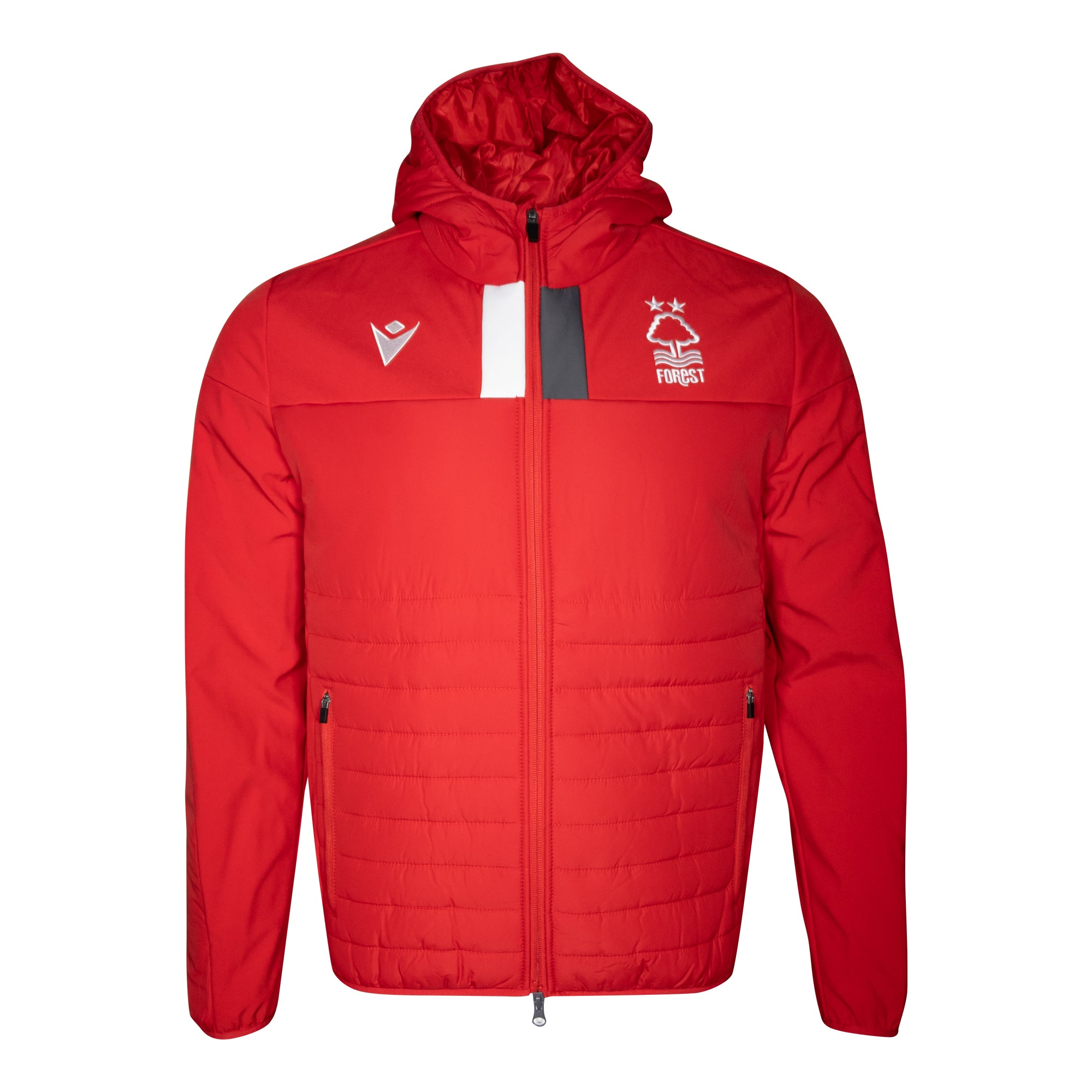 NFFC Mens Red Player Bomber Jacket 19/20
