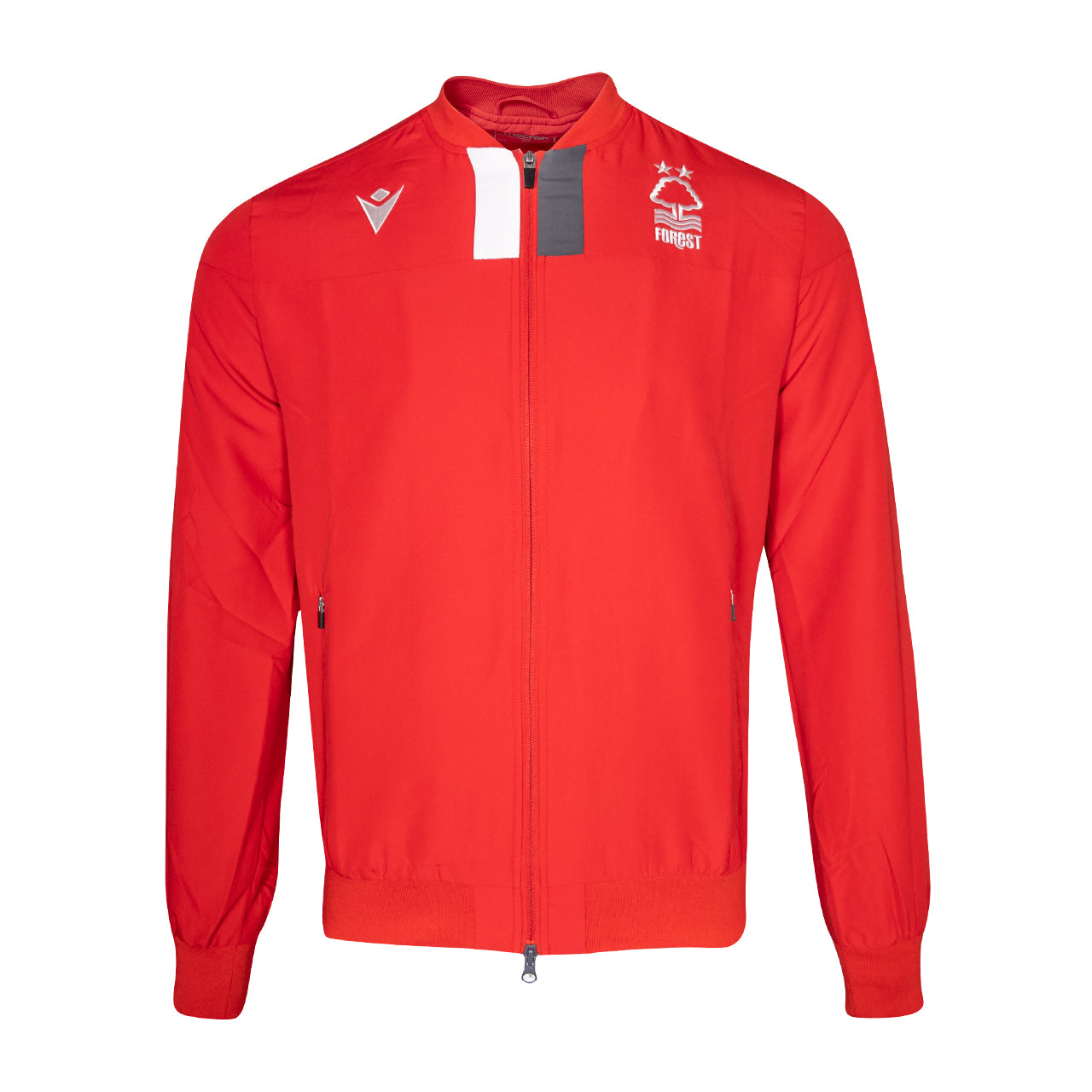 NFFC Mens Red Player Full Zip Training Top 19/20