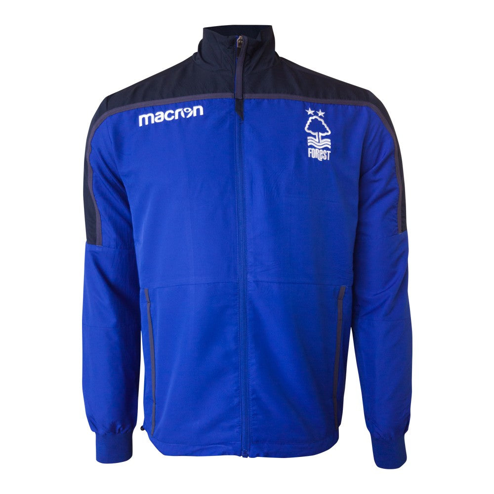 NFFC Mens Blue Microfibre Jacket 18/19 - Nottingham Forest