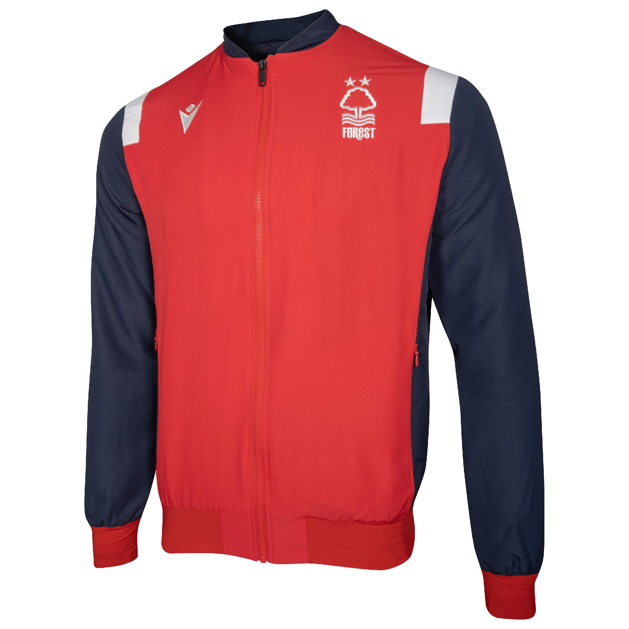 NFFC Junior Player Full Zip Travel Top 2020/21