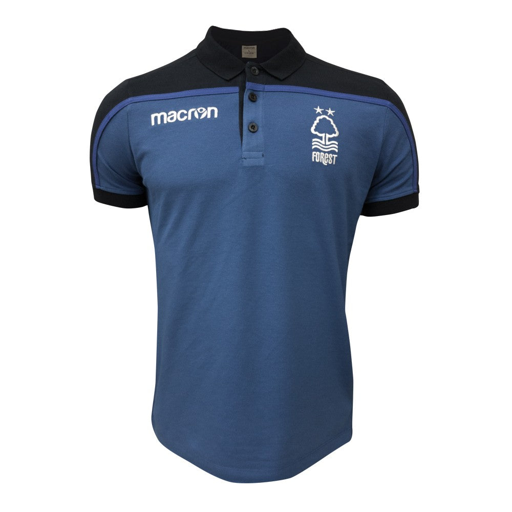 NFFC Junior Blue Travel Polo 18/19