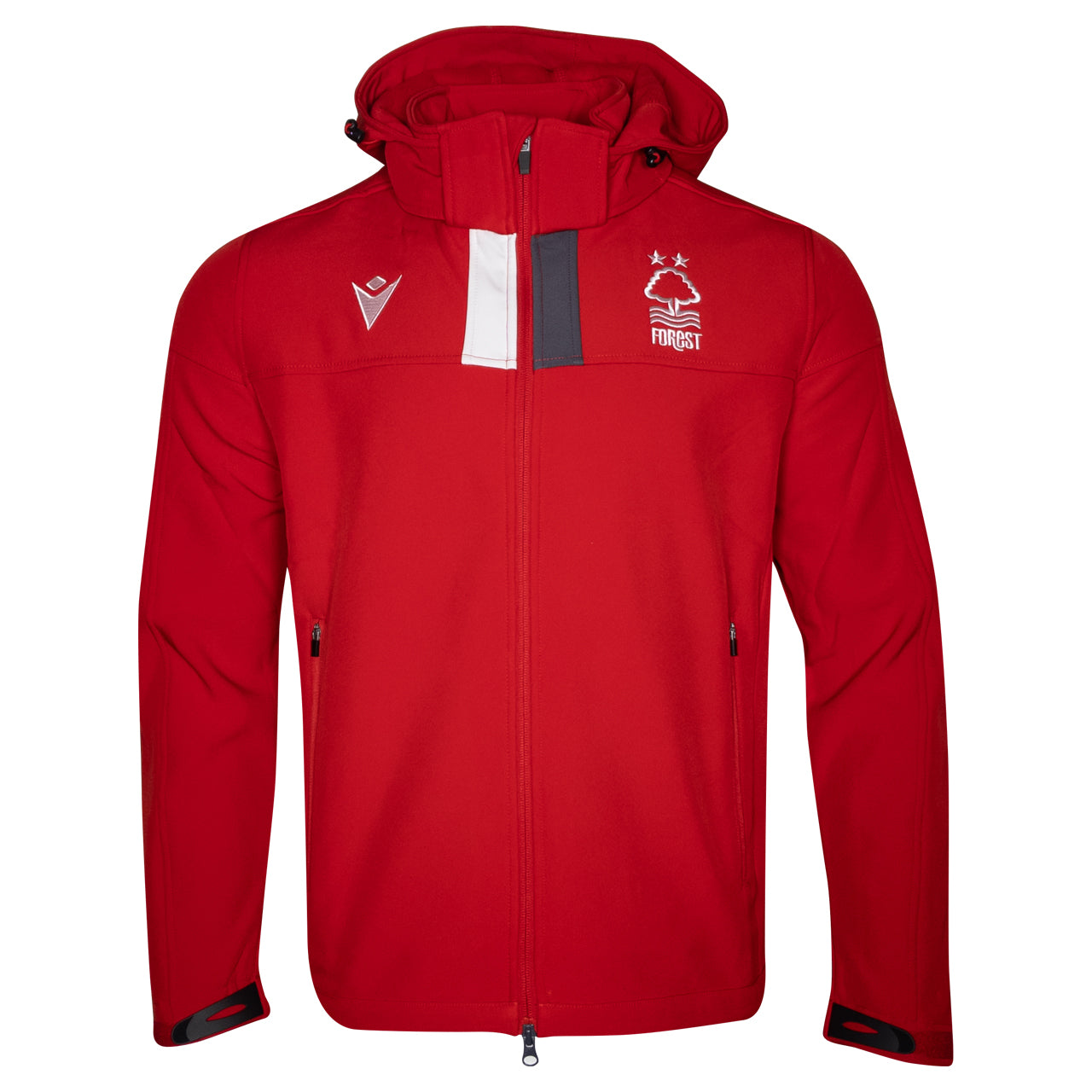 NFFC Mens Red Player Softshell Jacket 19/20