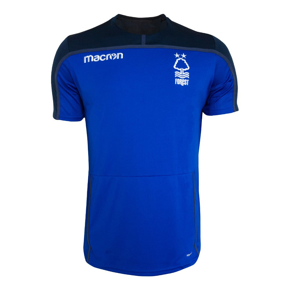 NFFC Mens Blue Training Jersey 18/19 - Nottingham Forest