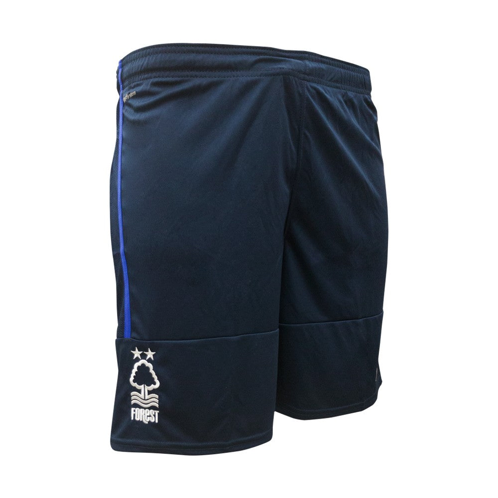 NFFC Mens Navy Poly Shorts 18/19 - Nottingham Forest
