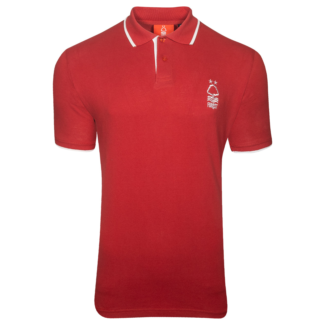 NFFC Mens Red Essential Polo