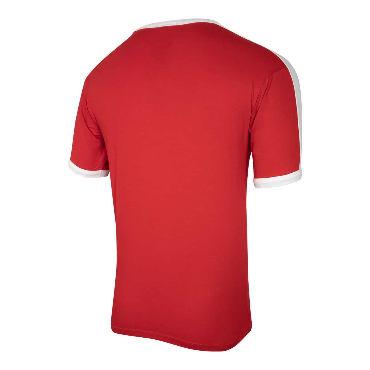 NFFC Mens Red Essential Ringer T-Shirt