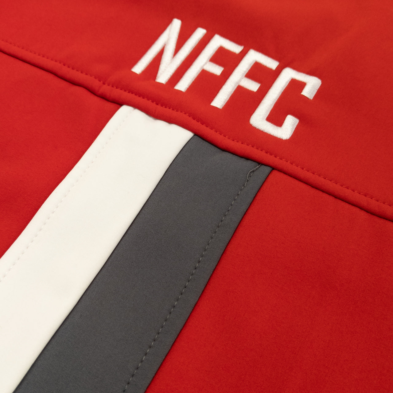 NFFC Junior Red Player Softshell Jacket 19/20